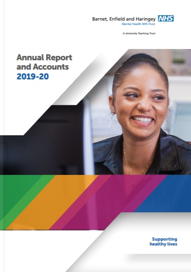BEH Annual Report 2019 20 cover page